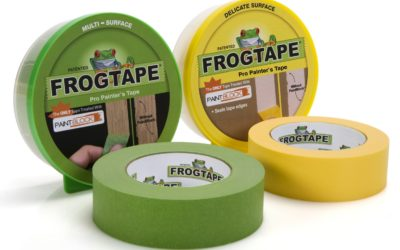 Paint Tips: Frog Tape for Clean Lines