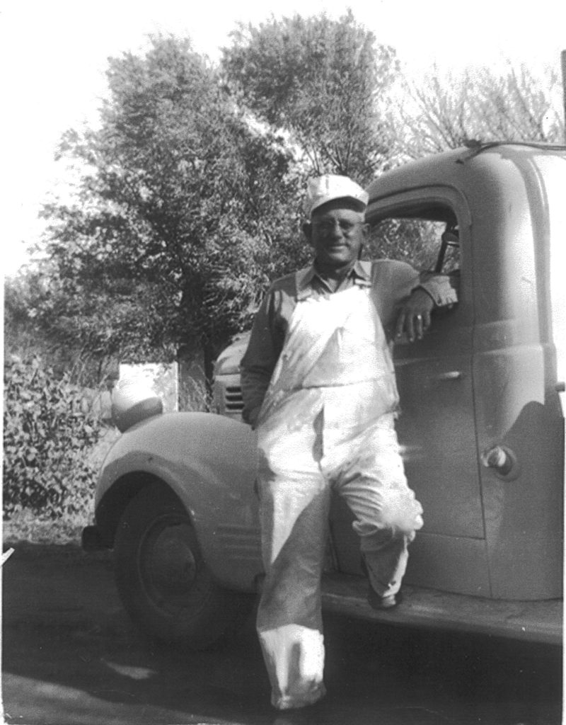 Bill with his Truck